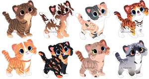 Kitten Adopts 1 [OPEN] - Now 200 points/2$!! by Chintzy-Adopts