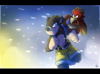 what a blizzard! by wolfiisaur