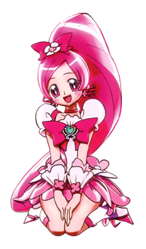 Cure Blossom [PreCure Haru no Carnival Render] by FFPreCureSpain