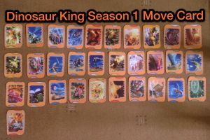 Dinosaur king all season 1 dinosaur cards by - Dinosaure king saison 2 ...