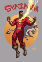 Captain Marvel by androsm