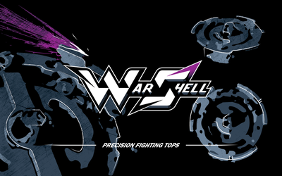 War Shell - logotype and wallpaper by model850