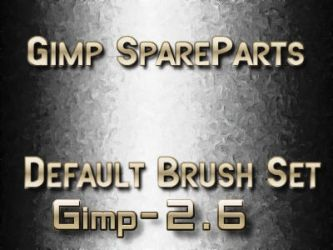 Gimp2.6 Default brush by photocomix-resources