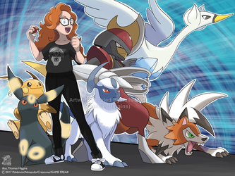 Commission - LouLou's Pokemon Team by Tails19950