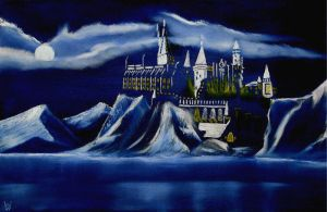 Christmas at Hogwarts Castle by WilliamSnape