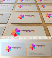 Color Business Card Template by Freshbusinesscards