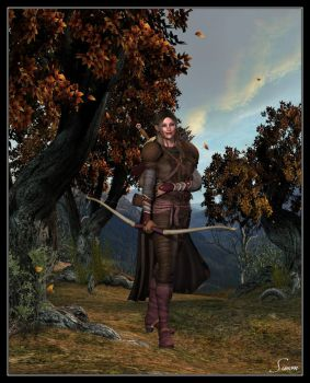A Daughter Of The Earthern Elves by celticarchie