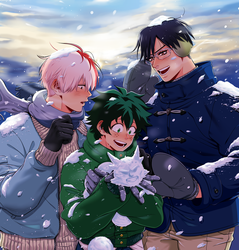 BNHA Secret Santa 2K17 by Josukespimphand