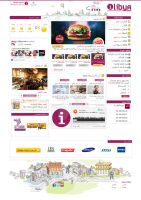 Egyptian Web Designer: iLibya website design by yehyahafez