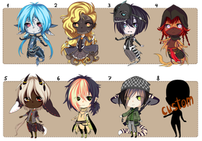 Chibi auction/CLOSED! by tear13