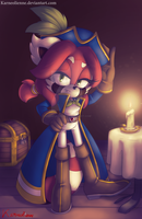 Karneol the Red Pirate by Karneolienne