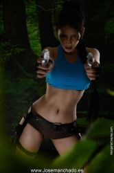 Geek and Sexy - Lara Croft by MorganaCosplay