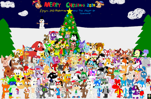 Christmas Group Picture 2014 by JustinandDennis