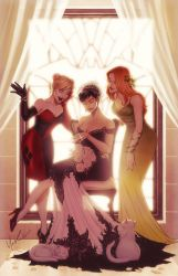 Cat Woman's Wedding Day Color by Protokitty