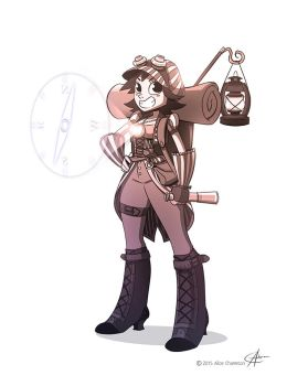 Steampunk Explorer by AliceCha