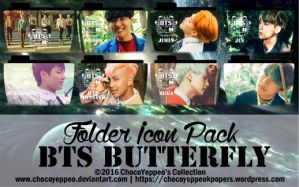 BTS Butterfly Folder Icon Pack by ChocoYeppeo by ChocoYeppeo