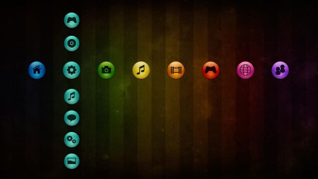 Sfere Colors 3 - PS3 Theme by javierocasio