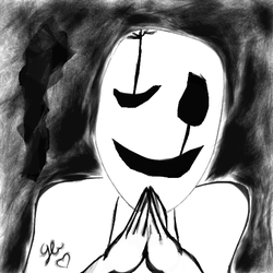 W.D Gaster by GreedyBean