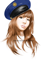 SNSD Sunny Drawing by sunyeon-snsd