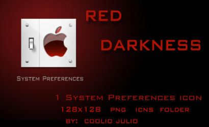 red darkness system pref icon by cooliojulio
