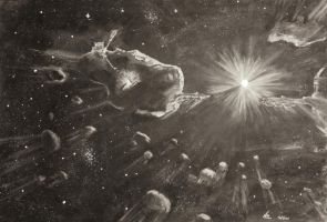 Asteroid Mining by Flakbadger