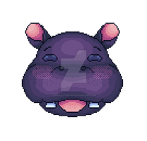 Hippo by CharlotteHewins