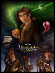 Disney's Treasure Planet by DolphyDolphiana