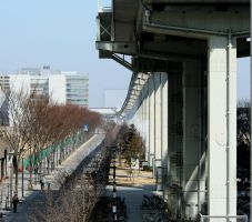 Tachikawa 'Tama line' Monorail by verseless