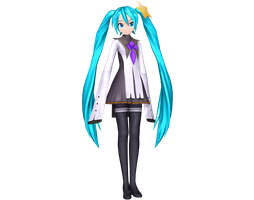 Project Diva Arcade Future Tone Meteorite Miku by Luke-Flame