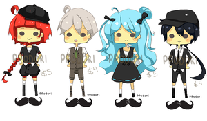 Fancy Adoptables01 [UPDATE] | OPEN by ppodori