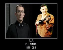 R.I.P. Peter Miles [Doctor Who] by DoctorWhoOne