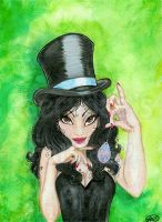 Zatanna : Comic Art by alyssakay