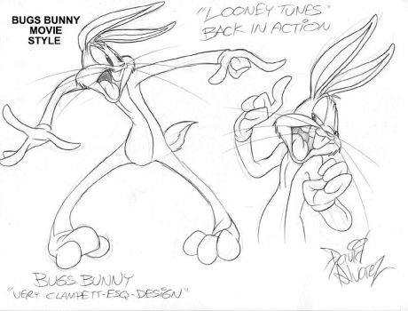 LTBIA-Model Sheet-Bugs Bunny by DaveAlvarez