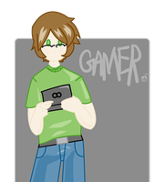 I IS GAMER by acktacky