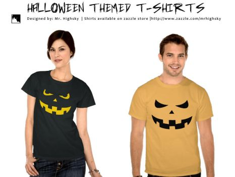 Halloween t-shirts by MrHighsky
