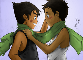 RE:Scarf by Junpei by kyujinueno