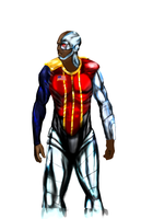 Deathlok - August Richards Concept by rjakobson