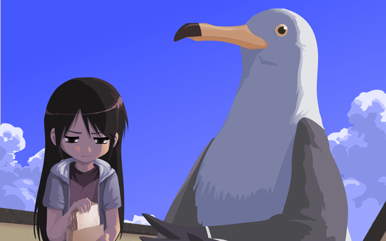 Please Don't Feed the Birds by JohnSu