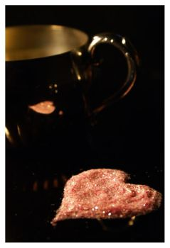 Pink Thoughts on a Cup of Tea by JacquiJax
