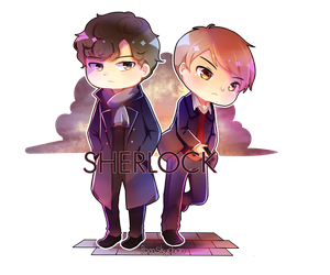 Sherlock by natiasewid