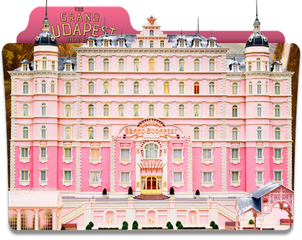 The Grand Budapest Hotel Folder Icon by jesusofsuburbiaTR