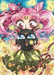 ACEO #34 Chibiusa and Luna P by AlexaFV