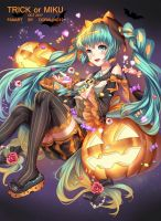 Trick or Miku by doraling12
