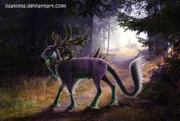 Sirion, the Guardian of the woods by LisaToms