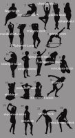 Silhouette Game Answers by lockstock