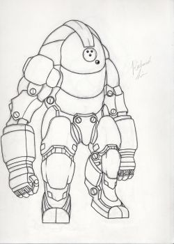 Mech Drawing Tracing by RichLim89