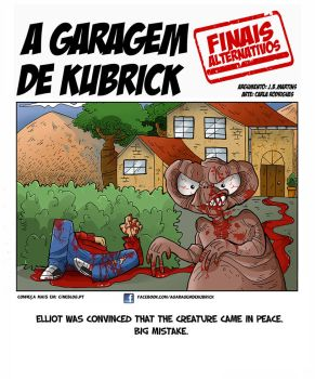 Garagem de Kubrick - ET Alternative Ending by cool-slayer