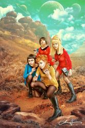 To Boldly Go by Chriswerx