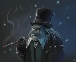 Mr pingouin Oswald Cobblepot by bib0un