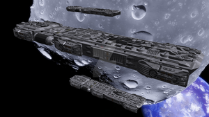 D-99 Longshore Heavy Troop Transport by Stingra